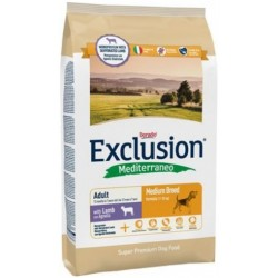 Exclusion Mediterraneo Adult Medium Breed Agnello 3 kg