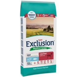 Exclusion Mediterraneo Adult Large Breed Pesce 12,5 kg