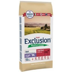 Exclusion Mediterraneo Adult Large Breed Agnello 12,5 kg