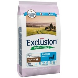 Exclusion Mediterraneo Light Small Breed Pollo 800 gr