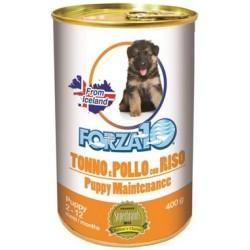 Forza 10 Puppy Maintenance Cane Patè Tonno e Pollo con Riso 400 gr