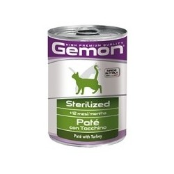 Monge Gemon Gatto Sterilized Tacchino 400 gr