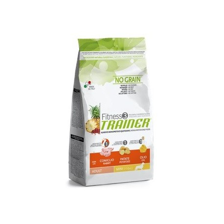 Fitness Trainer Adult Mini Coniglio, Patate e Olio 7,5 kg