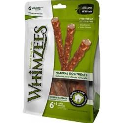 Whimzees Snack per Cani Salsiccia Veggie L 6+1 Pz