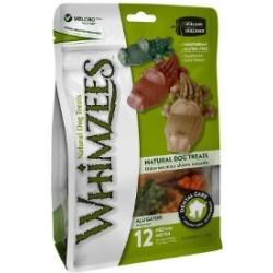 Whimzees Snack per Cani a Forma Di Coccodrillo M 12 Pz