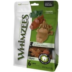 Whimzees Snack per Cani a Forma Di Coccodrillo L 6 Pz