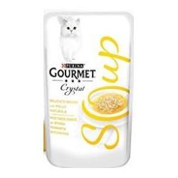 GOURMET SOUP POLLO 15x40GR