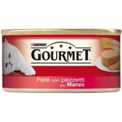 Purina Gourmet Gatto Patè con Manzo 6x195 gr