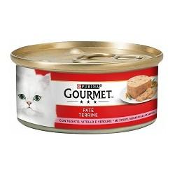 Purina Gourmet Gatto Patè con Fegato, Vitello e Verdure 6x195 gr