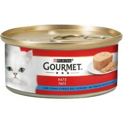 Purina Gourmet Gatto Patè con Tonno e Pesce Dell'Oceano 6x195 gr