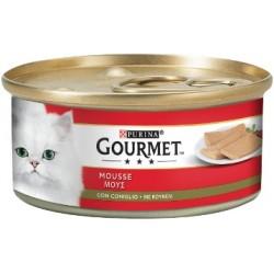 Purina Gourmet Mousse con Coniglio 6x195 gr