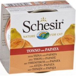SCHESIR FRUIT TONNO PAPAYA 75GR