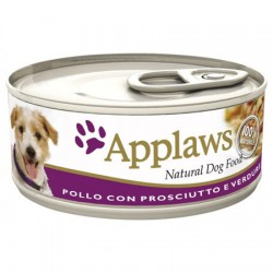 APPLAWS DOG POLLO PROSCIUTTO 156GR