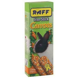 RAFF STAR STICK CARROTS CON.NANI 112GR