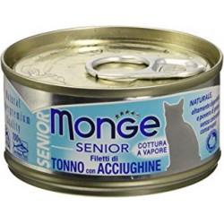 MONGE CAT SENIOR JELLY FIL TON/ACC 80GR