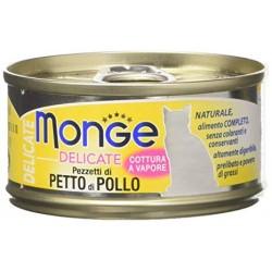 MONGE CAT DELIC PETTO DI POLLO 80GR