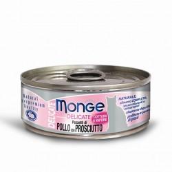 MONGE CAT DELIC POLLO PROSC 80GR