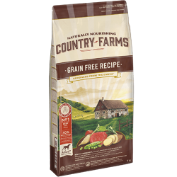 COUNTRY GRAIN FREE ADULT MANZO 11KG