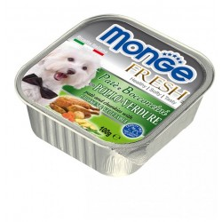 MONGE DOG FRESH POLLO E VER 100GR
