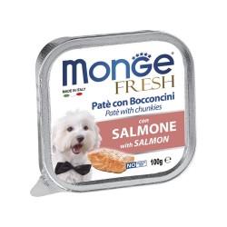 MONGE DOG FRESH SALMONE 100GR