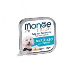 MONGE DOG FRESH MERLUZZO 100GR