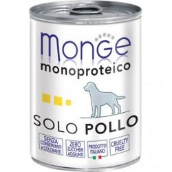 MONGE DOG SOLO POLLO 400GR