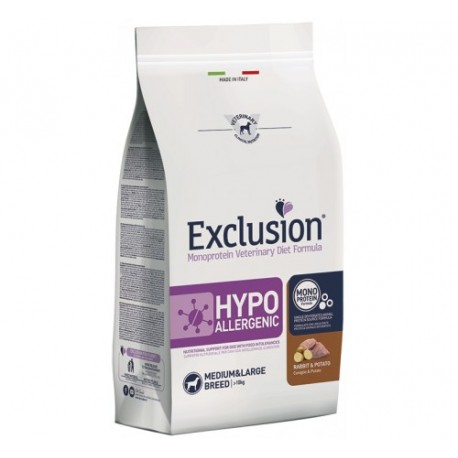 Exclusion Diet Hypoallergenic Small Breed Coniglio e Patate 2 kg